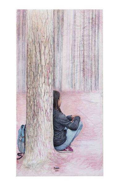 Martina Muntzing, 'Nära ögat, Kajsa', 2020