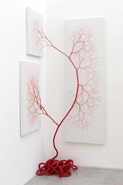 Janaina Mello Landini, 'Ciclotrama 166 (Impregnação)', 2019