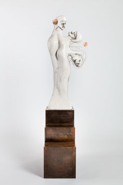 "Enrico David, '""Racket I""', 2017"