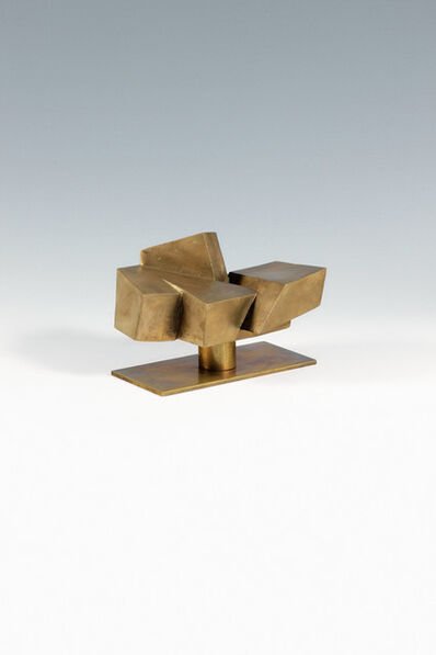 Josef Pillhofer, 'Diagonal echelon form', 1968-1969