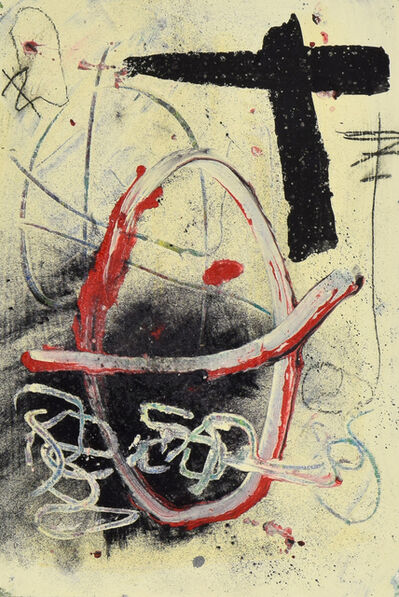 Antoni Tàpies, 'Abstract Composition', 20th century