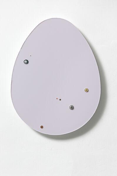 Thomas Grünfeld, 'Untitled (egg / lilac )', 2016