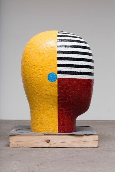 Jun Kaneko, 'Untitled Head Form 2', 2015