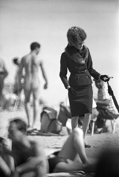 Jerry Schatzberg, 'Naked Beach', 1962