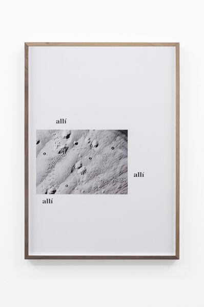 Adrien Missika, 'Camino por desierto (O Allí o allí o allí o)', 2018