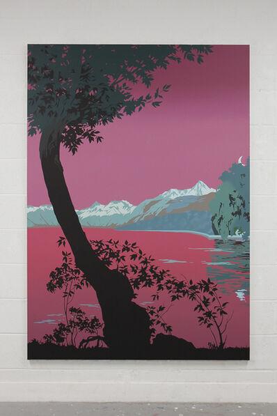 Alex Dordoy, 'Evian-les-Bains (magenta)', 2018