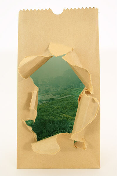 Jerry McMillan, 'Untitled (Paper Bag Sculpture)', 1971