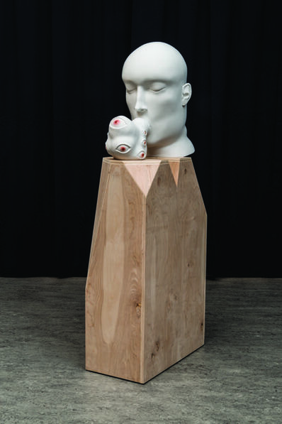 Tanya Batura, 'Untitled (head blob)', 2014