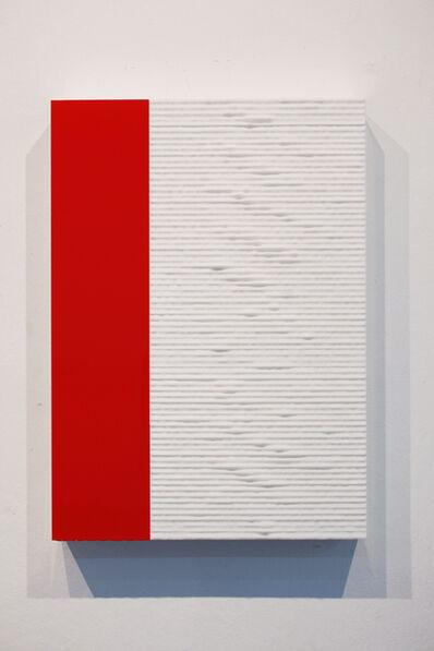 Jeremy Sharma, 'Terra Faktura (red band)', 2014