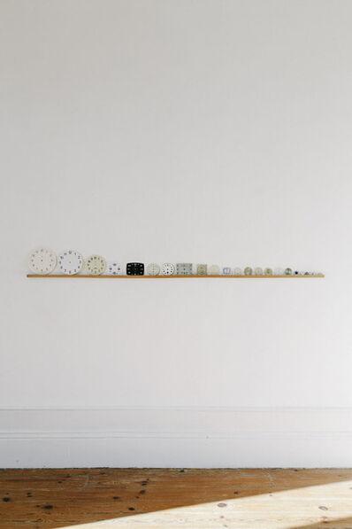 Clara Sanchez Sala, 'Brief history of eternity in 24 clock boards', 2017