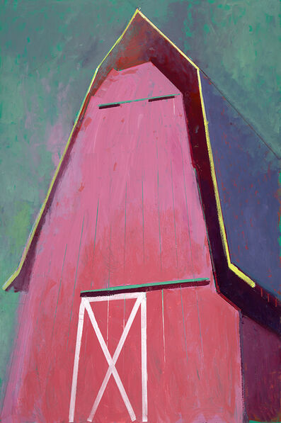 William Wray, 'Pink Barn X', 2018
