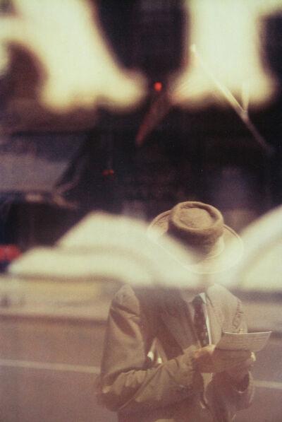 Saul Leiter, 'Man Reading', 1957