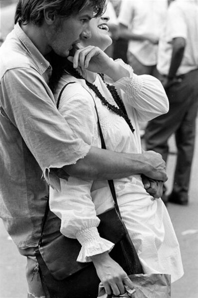 Hervé GLOAGUEN, 'Tompkins square, NY 1967', 1967