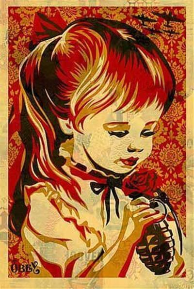 Shepard Fairey, 'War by Numbers ', 2008