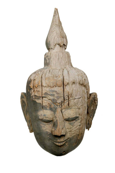 Unknown Asian, 'Head of Buddha', Shan Period (17th/18th century)