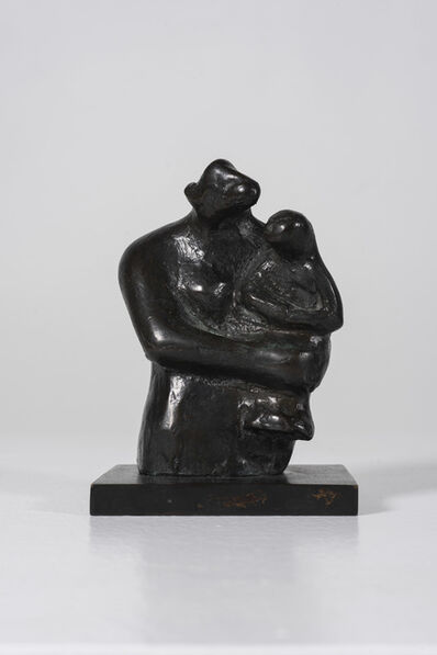 Henry Moore, 'Half-Figure: Mother and Child', 1983