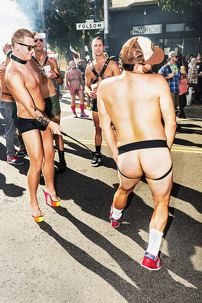 Mitchell Funk, 'Folsom Street Fair, BDSM Leather Event #35', 2015