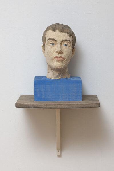 Stephan Balkenhol, 'Head II', 2011