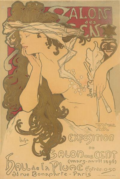 Alphonse Mucha, 'Salon des Cent / XXme Exposition.', 1896