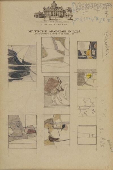 Enrico Prampolini, 'Study', 1945-55