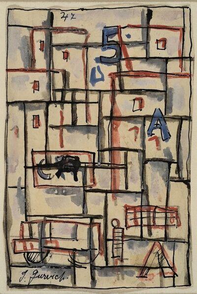 José Gurvich, 'Constructivo', 1947