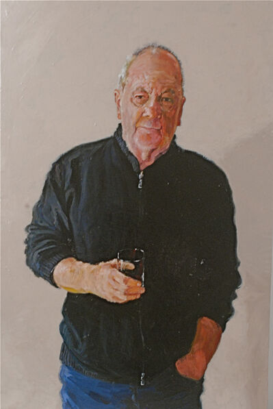 Alphonse van Woerkom, 'Self Portrait with Whiskey Glass', 2016
