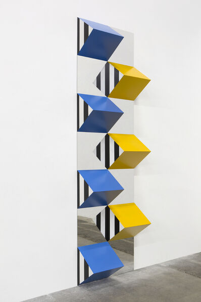 Daniel Buren, 'Prismes et miroirs - DB 8', 2018