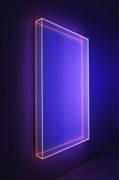 Regine Schumann, 'Colormirror Soft Pink Vertical Cologne', 2018