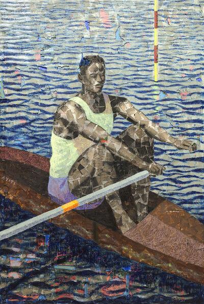 Derek Fordjour, 'Rower', 2019