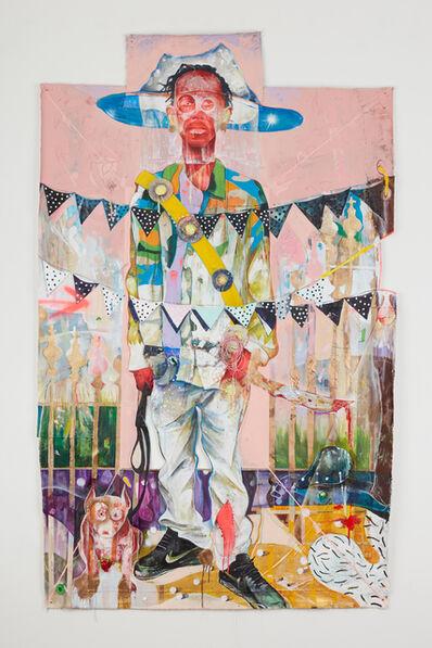 Lavar Munroe, 'Lord, Train My Hands for War', 2020