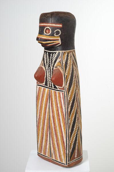 David Daymirringu Malangi, 'Durandur (Gurrmirringu, the Hunter's wife)', ca. 1970