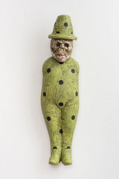 Tom Bartel, 'Pea Green Figure with Hat', 2016
