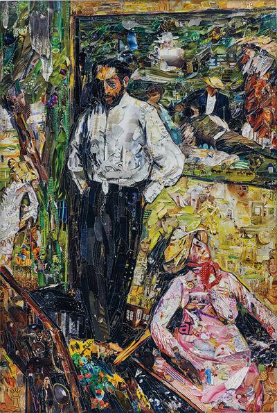 Vik Muniz, 'Man and Puppet, after Edgar Degas', 2013