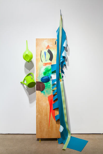 Jessica Stockholder, 'Over the Moon', 2014