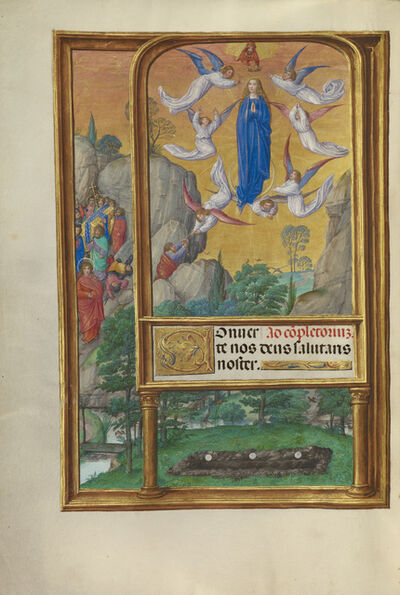 Master of James IV of Scotland, 'The Assumption of the Virgin', 1510-1520