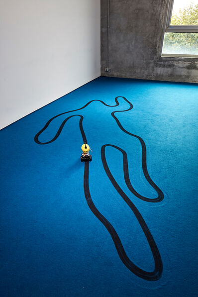 Samson Young 楊嘉輝, 'Line follower', 2018