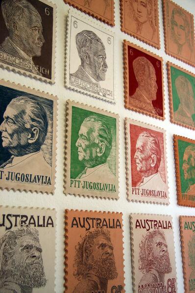 Veljko Zejak, 'Post stamps', 2005 / 2006