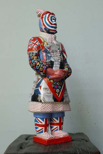 Fenghua Liu, 'Terracotta warrior - Sir Peter Blake', 2012