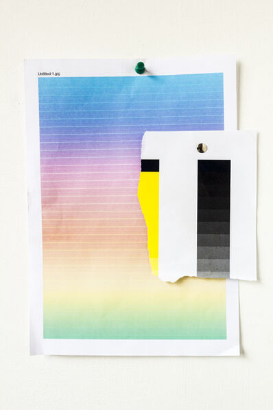 Peter Puklus, '0263, Colour and greyscale gradients', 2011