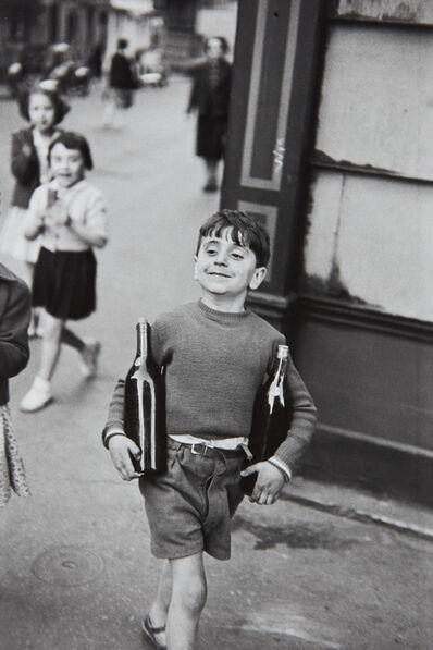 Henri Cartier-Bresson, 'Rue Mouffetard, Paris', 1954-printed later