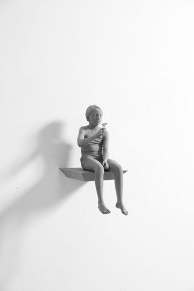 Hans Op de Beeck, 'Tatiana (butterfly) (small version)', 2018