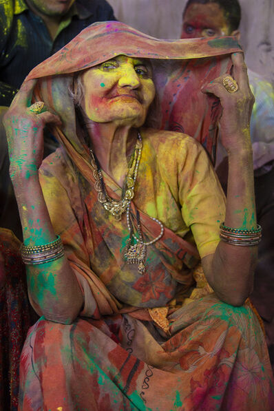 Cristina Garcia Rodero, 'INDIA. Holi festival.', 2013