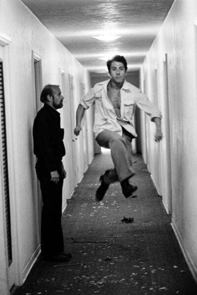 Steve Schapiro, 'Dustin Hoffman with Director Bob Fosse, Miami, 1973', 1973