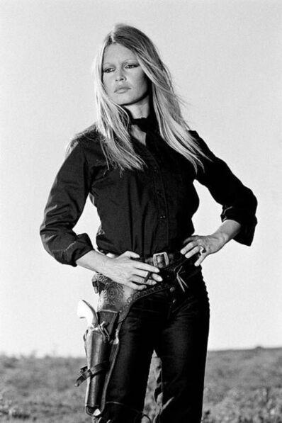 Terry O'Neill, 'Brigitte Bardot Holster Hip Co-Signed Edition', 1971