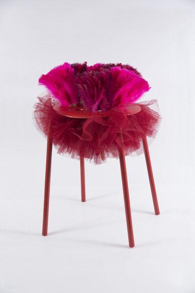 Diana Wolzak, 'Red Tutu Seat', 2018