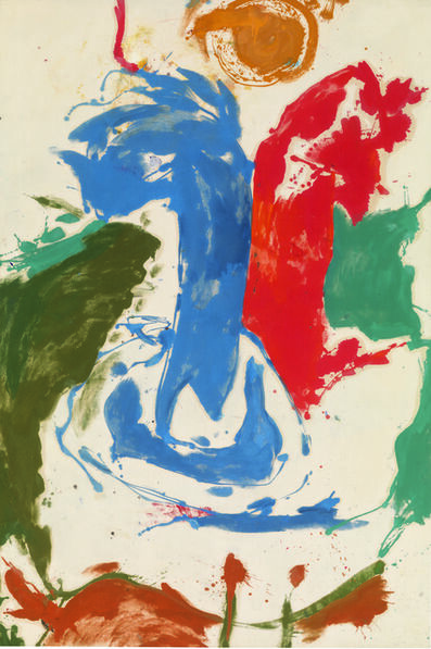 Helen Frankenthaler, 'Two Live as One on a Crocodile Isle', 1959