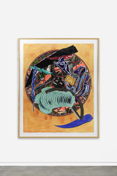 Frank Stella, 'The Waves: The Whale as a Dish', 1989
