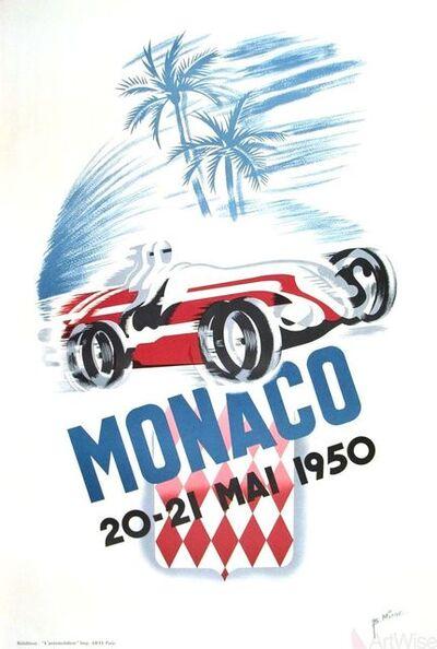 B. Minne, 'Monaco Grand Prix 1950', 1995