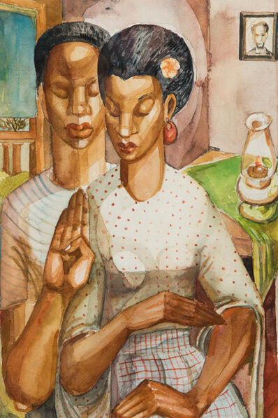 Frederick Jones, 'Couple', 1945-1950