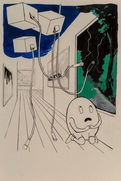 Tilo Baumgärtel, 'Ehrfurcht (Egg Man Praying)', 2003